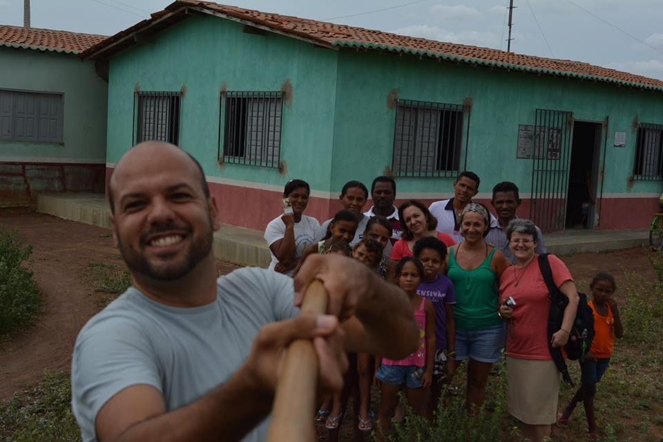 Com Maria Da Luz Machado em Betânia do Piauí.