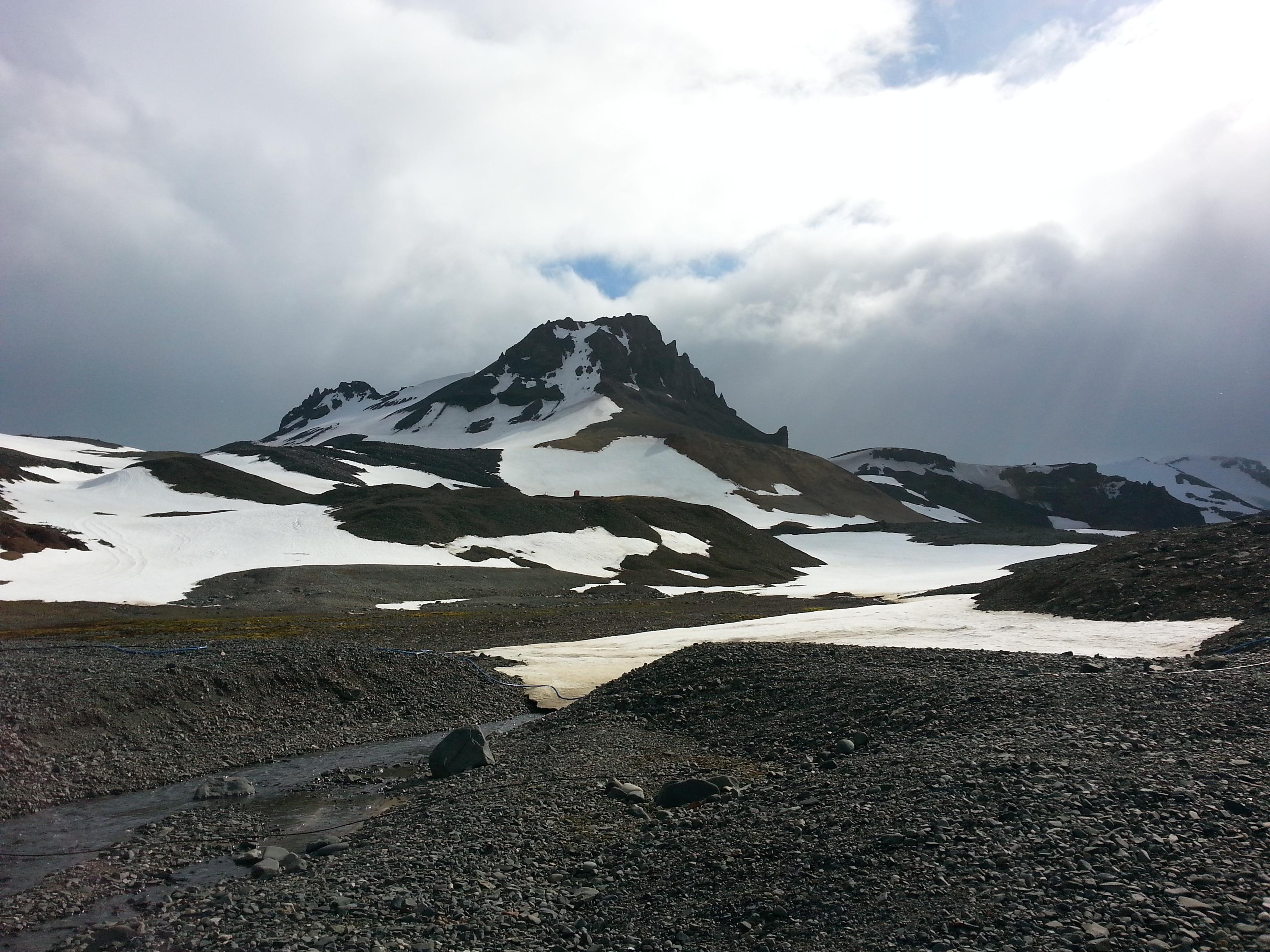 Paisagem antártica. Foto Dionei Santos.