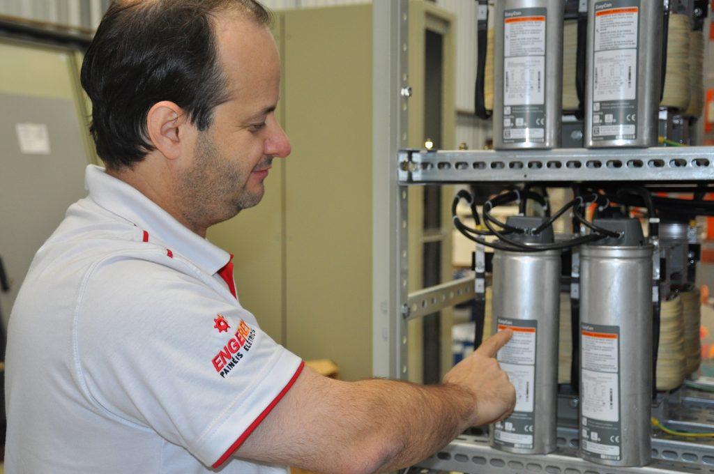 Fábio Amaral, diretor da Engerey Painéis Elétricos, em Curitiba