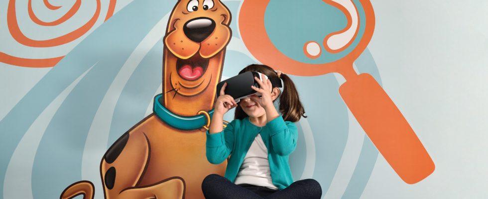 Pediatria 3D oculos de realidade virtual