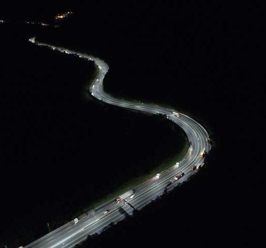 Serra de Curitiba ganha iluminação de LED