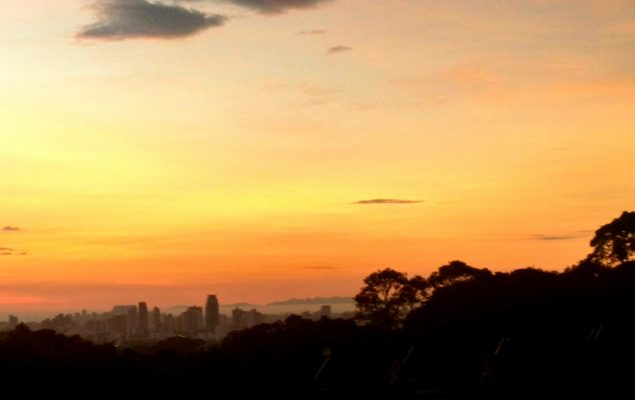 Curitiba BRICS por do sol