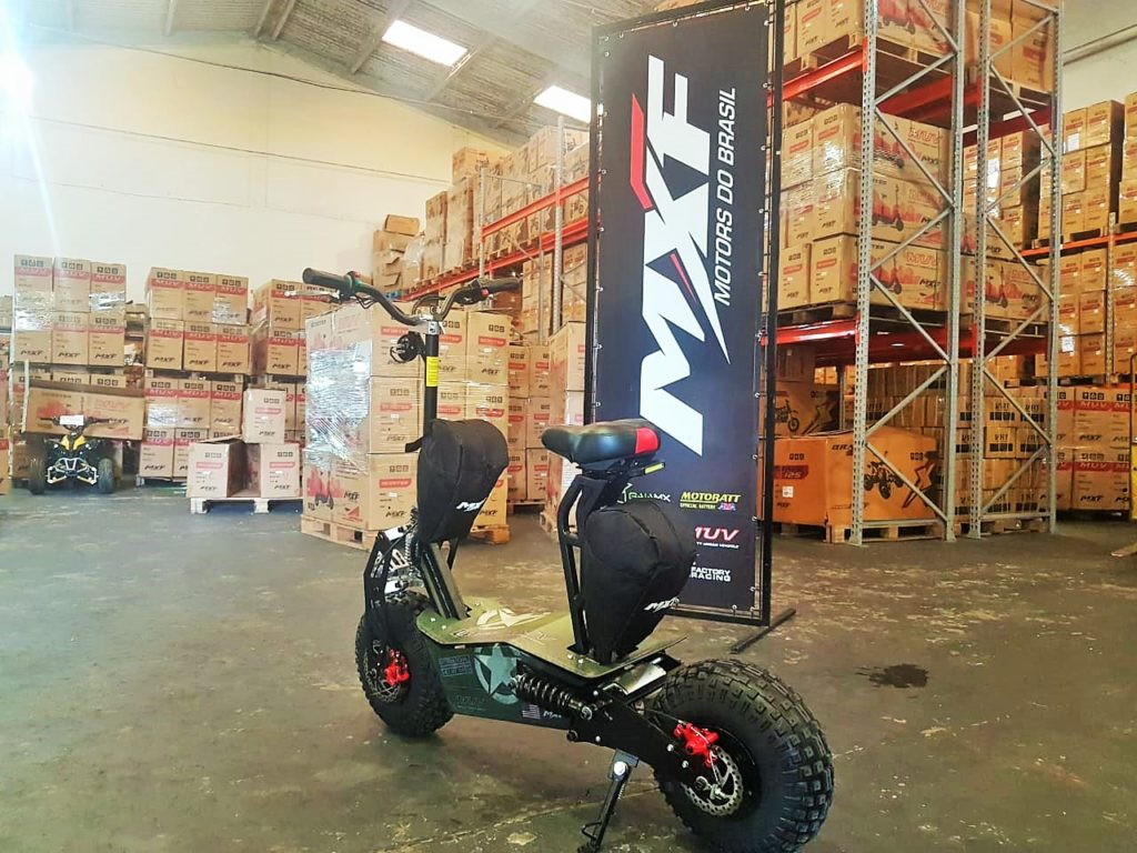 Carro elétrico MUV MXF Motors