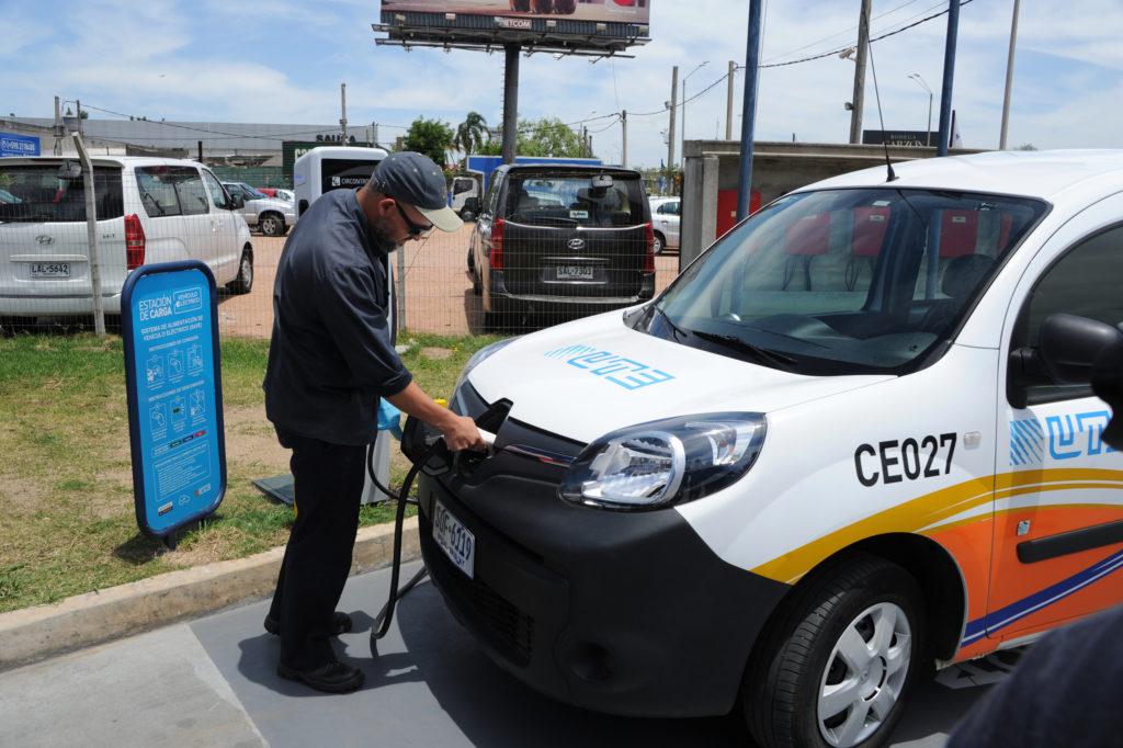 Uruguai eletrovia eletroposto