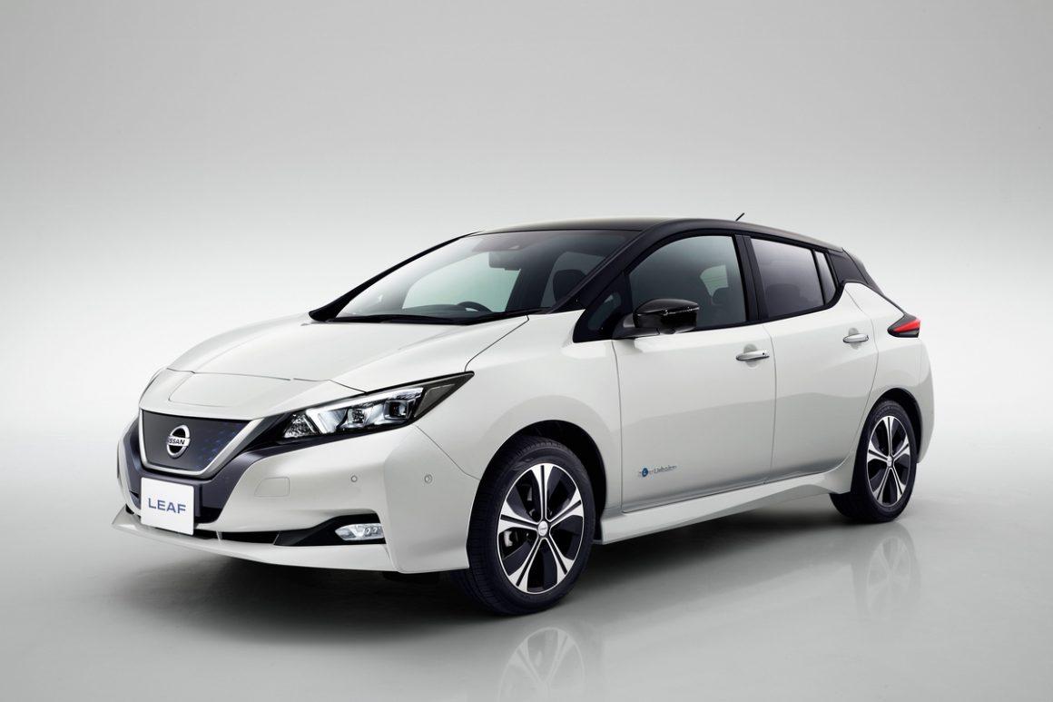 """O Nissan LEAF ganhou em 2018 o prêmio da Consumer Technology Association como """"O melhor em Inovação da CES"""""""