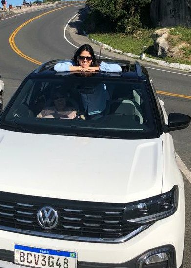 T-Cross SUV Volkswagen Gislene Bastos