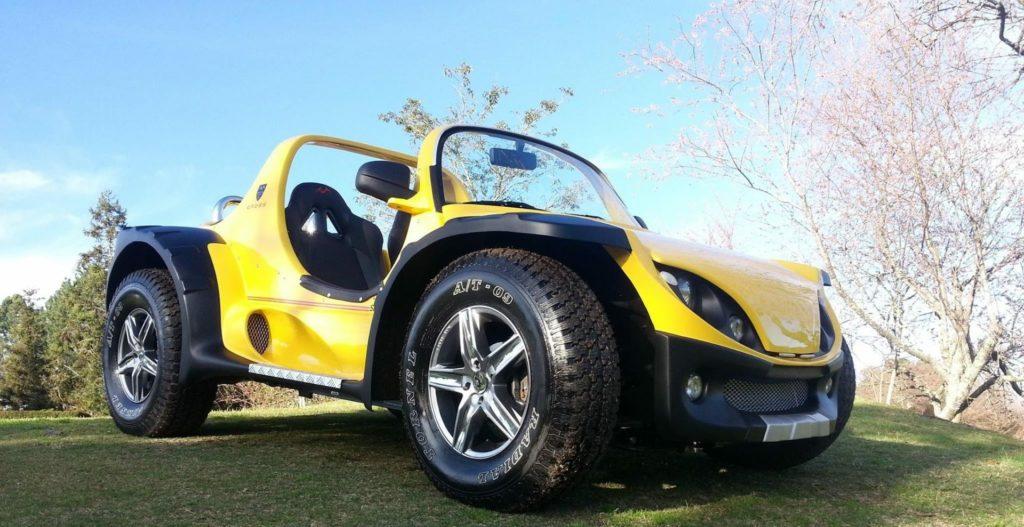 Buggy power elétrico eiON amarelo