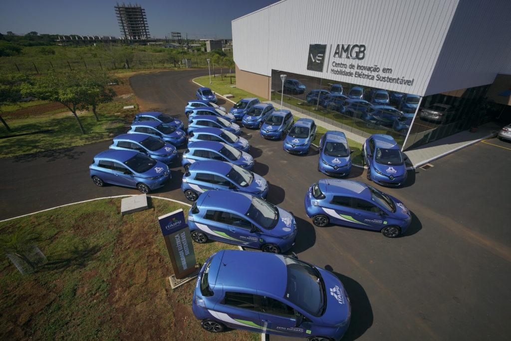 Renault carro eletrico Itaipu Frota Aerea