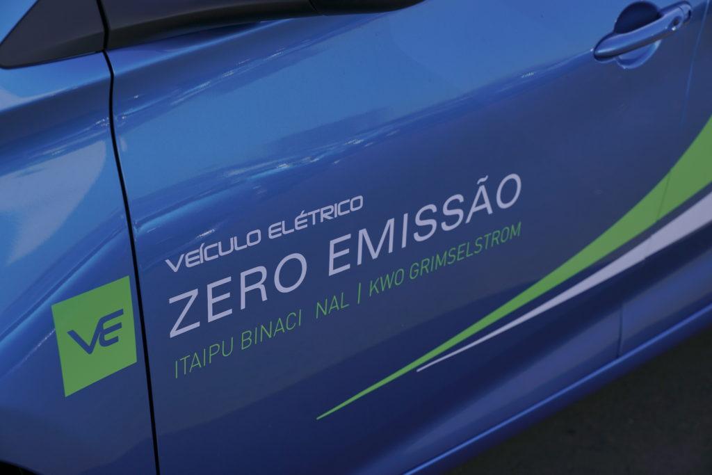Renault Itaipu Zero emissoes. Itaipu Veiculo Elétrico