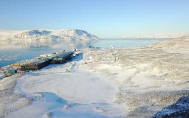 Ilha do Rei George. Antartica. Foto Marinha do Brasil.