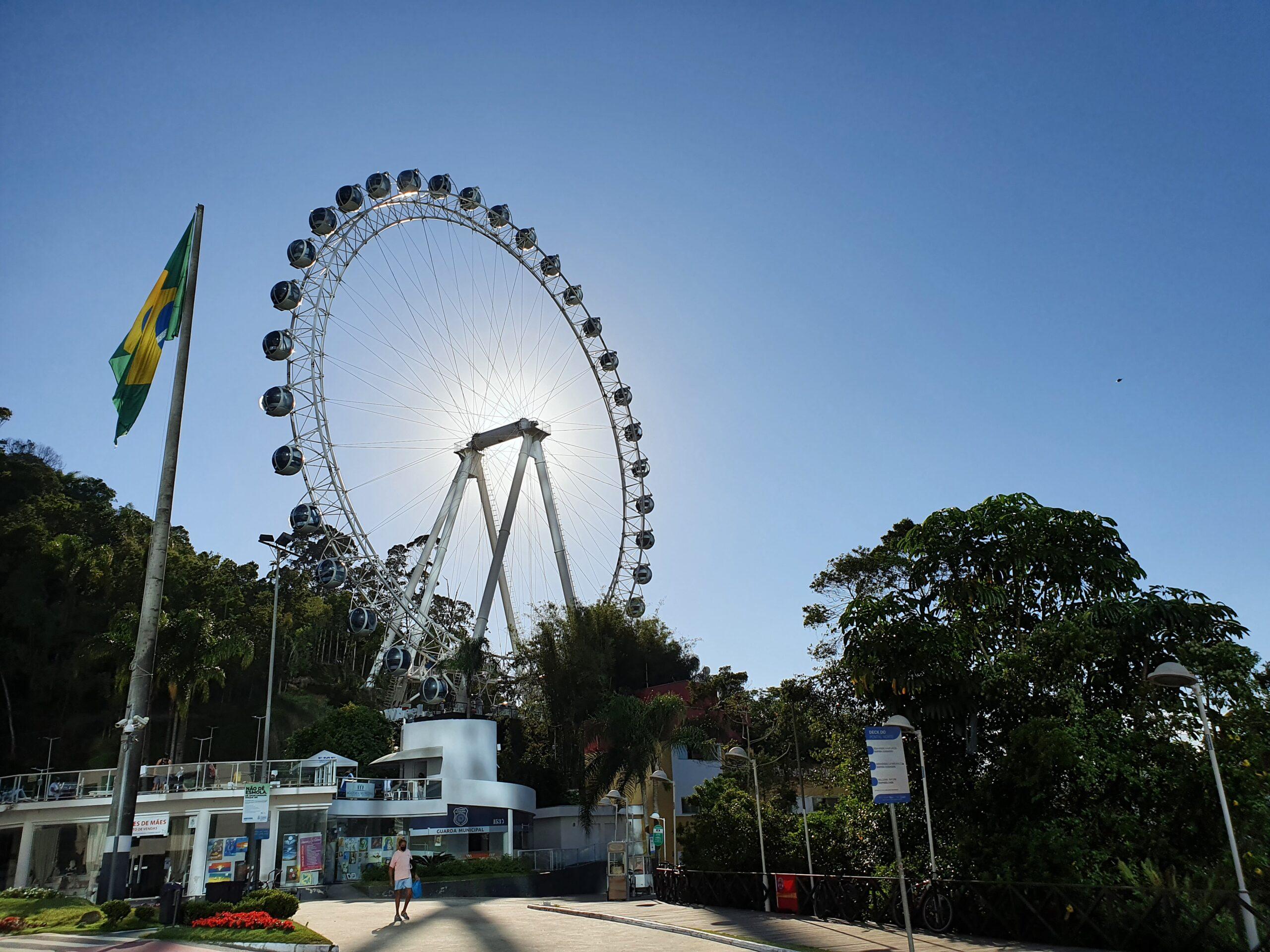 Roda gigante de Balneario Camboriu fg big wheel Foto Gislene Bastos